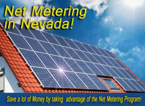 net metering in Nevada
