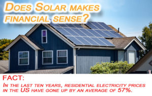 solar panels make financial sense